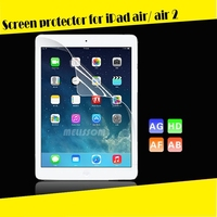 New Arrival!! japanese materials No Bubble waterproof anti-glare 3-layer 9.7 tablet screen protector for iPad air 2