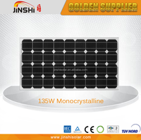 135w monocrystalline solar cell panel with A grade cell 36pcs(4*9)