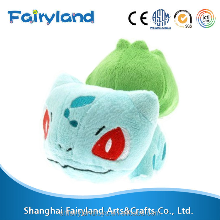 Pokemon plush toy Bulbasaur 6'' Soft Stuffed Doll, Blue