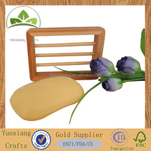 Bamboo soap holder wholesale wood holder