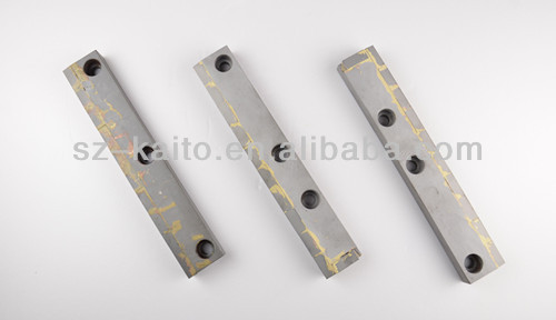 Road maintenance equipment cold planer carbide scraper blade