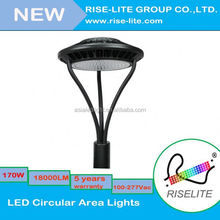 circular area led light fixtures garden top post led area light rechargeable led home emergency light