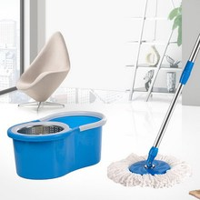 Newly design easy clean low price platinum spin mop