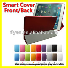 Magnetic Smart Cover Leather + red Case for New Apple iPad 5 iPad Air 2013
