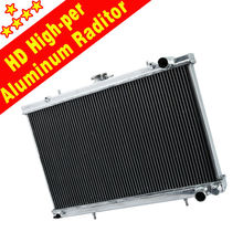 Alumium Alloy Auto CAR Radiator For TOYOTA landcruiser HZJ78 HZJ79 01-07