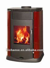 Wood Stove WSD-D03 with air wash system for glass cleaning,8.5KW