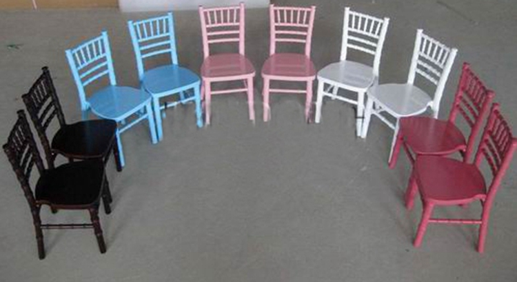 Made in Henry Event Wedding Children Wooden Chiavari Chairs, Kids Sillas Tiffany