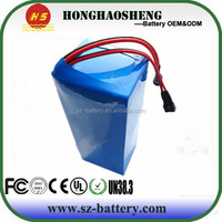 Li-ion electric battery 18650 50A battery pack 24v 36v 20ah golf cart battery pack