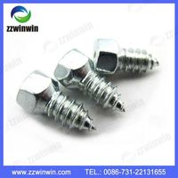 Easy to control Carbide snow car tire studs for sale , truck screw tire studs, tungsten carbide stud