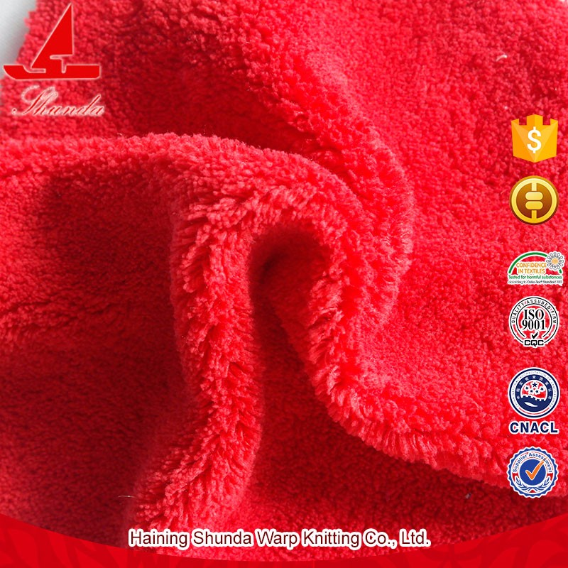 OEM Anti-pilling Shrink-Resistant Comfortable Super Soft Crystal Velvet Fabric