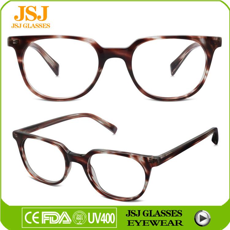 2016 latest design optical frame hand made spectacle frames for girls/women eyewear glasses
