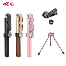 Luxury custom wireless bluetooth selfie stick with remote control shutter