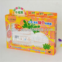 china supplier fold up plastic box pvc cosmetic box