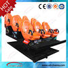 2014 oversea hot sale removable mobile black chairs 5d cinema simulator and 4d motion theater cinema seat