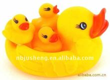 LOVELY YELLOW MOTHER BATH DUCK ----JS10006-1