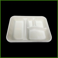 Environmental disposable paint plastic food fruit tray liners snack tray