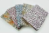 For iPad mini Leopard Pattern Print Tablet Leather case