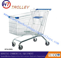 Used In Supermarket Shopping Trolley go karts