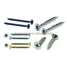 C1022 Galvanized Sheet RoHS Rock Screw for Wood with Sharp Point