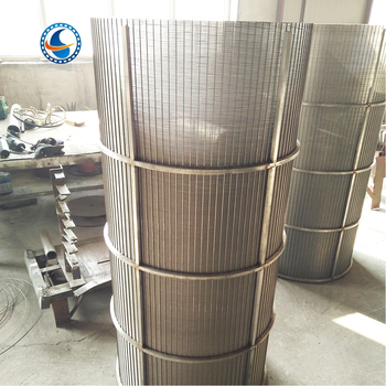 Reverse Rolled Johnson Wire Screens Wedge Wire Screen Tube