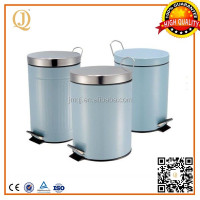 washing room hygiene indoor waste bin powder coating metal waste bin