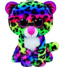 Ty Dotty The Colorful Leopard Beanie Boos Stuffed Plush Toy