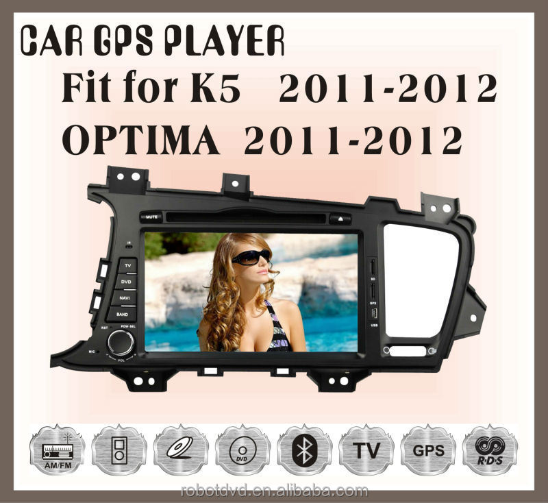 Fit for KIA optima 2011 2012 double din car dvd gps navigation