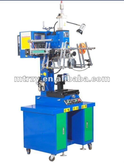 Round heat transfer printing machine
