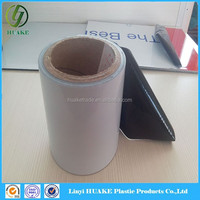 High Quality 60mic PE Self Adhesive Plastic Film Stainless Steel Mental Plate