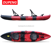 New style Large Angler Kayak ,Polyethylene Fishing Boat