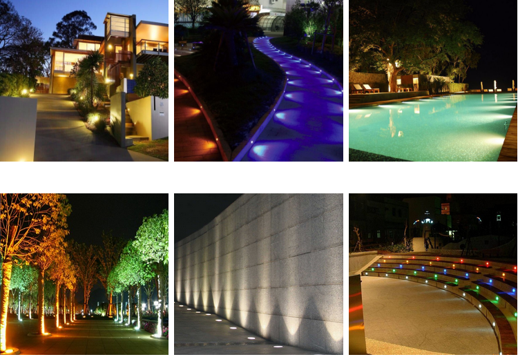 IP67 outdoor garden inground lights waterproof led underground light