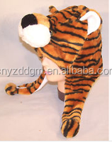 PLUSH ANIMAL HAT wild animal hats warm caps NEW animal head wear ear muffs