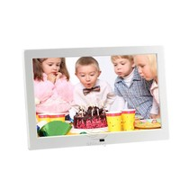 8 10 12 inch electronic gif indoor rotating flower usb powered mp4 voice recording digital photo picture frames
