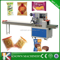 KNP-250 Flow type chocolate wrapping machine