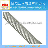 High quality galvanized steel wire strand