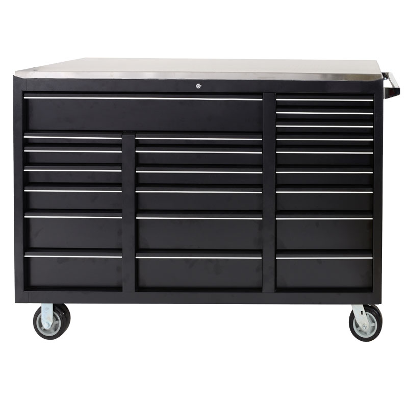 72 Inches safe Heavy duty metal black cheap storage toolbox cabinet