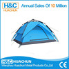 Fiberglass Pole Material and Single Layers pop up camping family tent