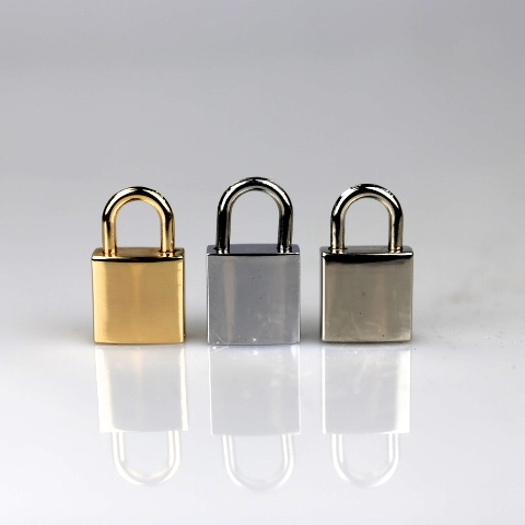Golden SIlver Mini Handbag Padlock for Diary Lock 20mm