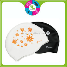 factory price funnt novelty custom adults silicone swimming caps