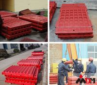 Shanghai DongMeng good quality mantle and concave spare parts for crusher