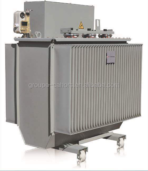 3 phase transformers with cable box