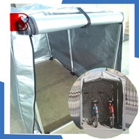 foldable pvc tarpaulin tarp shelter,lightweight beach tent for sun shelter