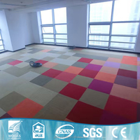 Supply colorful exhibition hotel lobby pvc wall to wall carpet