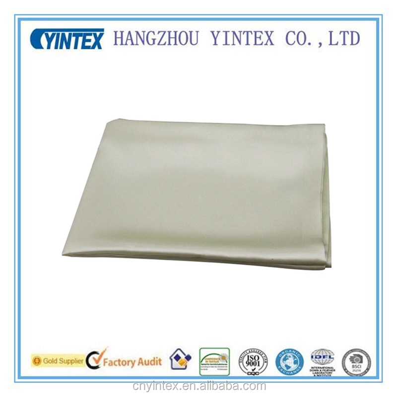 Luxury Pillow Case Made With 100% Pure Mulberry Long Strand Silk Hidden Zipper Silk Pillowcase