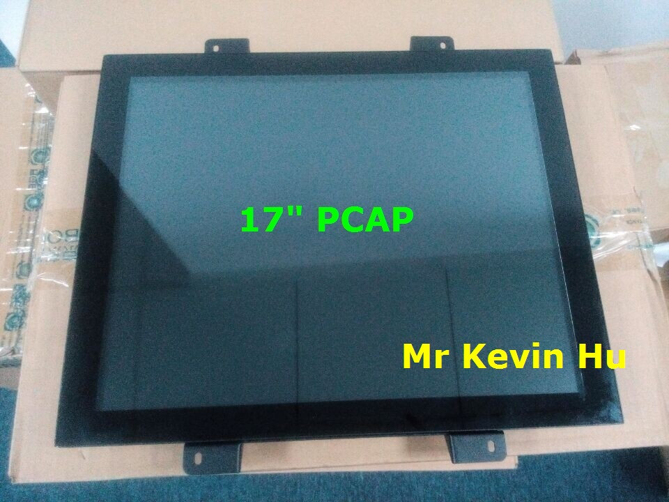 "arcade game monitor, 17.0"" capacitive touch screen square 4:3 format for ATM / Kiosk / Vending Machine"