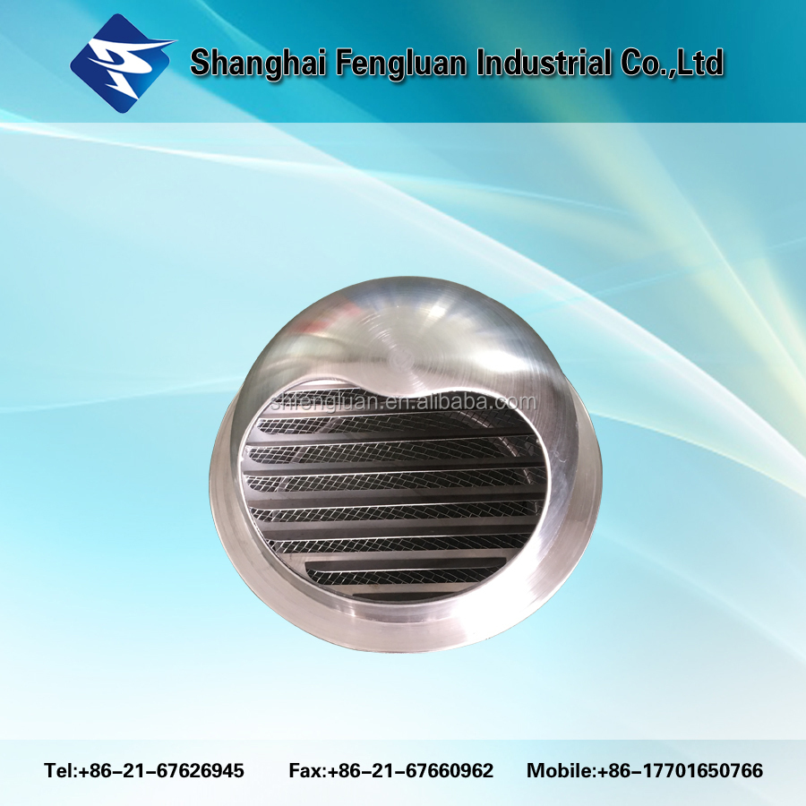 Stainless steel 304 high quality round waterproof air vent cap for ventilation