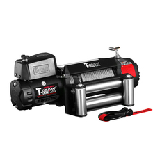T-max X-power 4wd 9500LB electric winch with wire rope