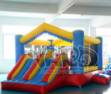 Residential inflatable bouncer Birthday Party PVC Inflatable Bounce House With Dual Slide ASTM F963 UL