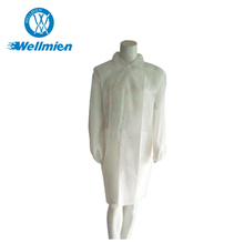 Professional manufacturer Disposable non woven lab coat for medical use