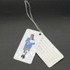 Custom design Plastic golf bag tag with hole